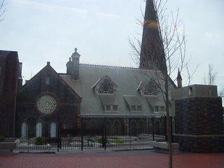 First Presbyterian Church as seen from SW Morrison near 13th Avenue