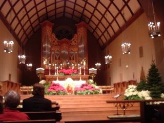 Christmas decorations, Trinity Episcopal Cathedral