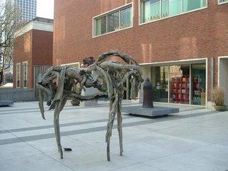 Dance Horse, bronze sculpture by Deborah Butterfield at Portland Art Museum