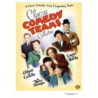 Comedy Teams DVD Set