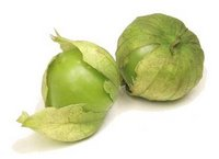 Tomatillos verdes mexicanos