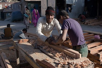 Joinery at Joshimath