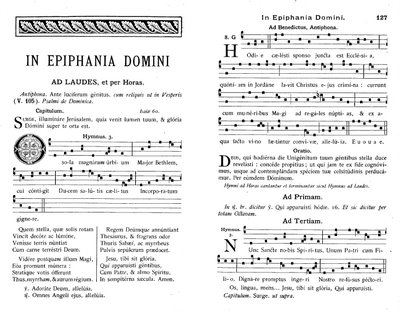 Epiphanie Solesmes 1891 folio 1