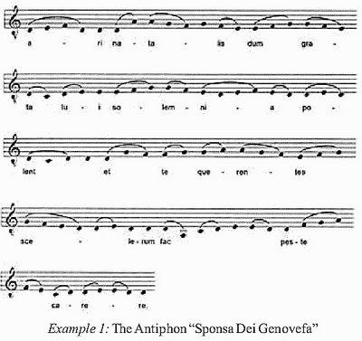 antienne Sainte Genevieve epouse de Dieu