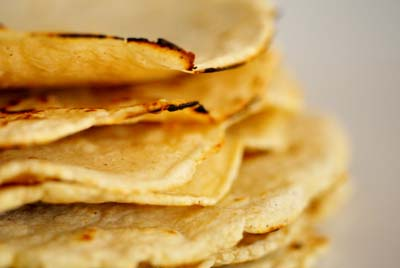 Easy Green Chile Quesadilla Recipe With Sprouted Corn Tortillas ...