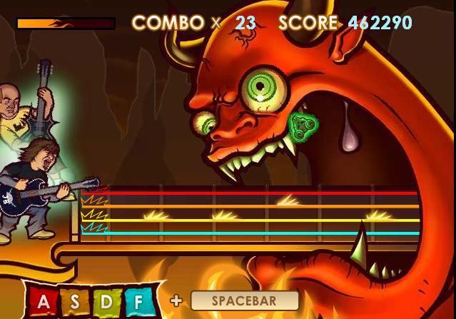 Tenacious D - Guitar Hero ~ Games on the Web