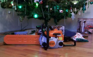 'Next year, get me a chainsaw' - Doug McKenzie, 12 Days Of Xmas