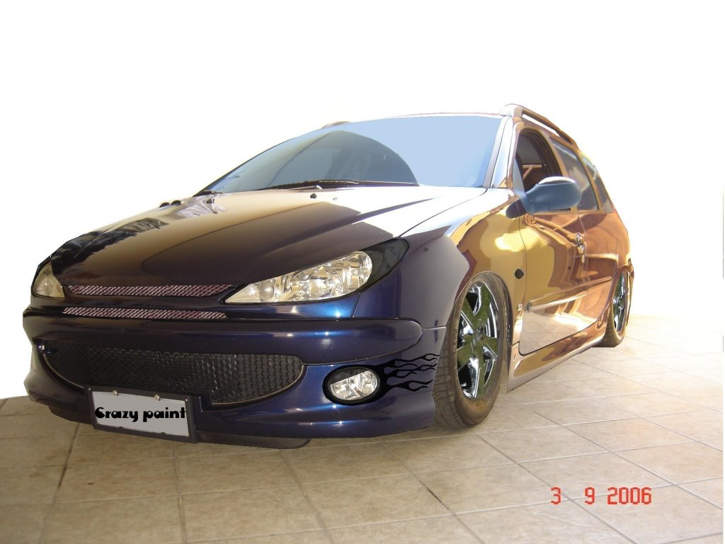 Crazy Paint 206 Sw Tuning