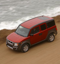 Honda Element Review