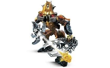 N10 Lego 8918 Bionicle Mahri Nui Barraki Carapar robot complet de 2007