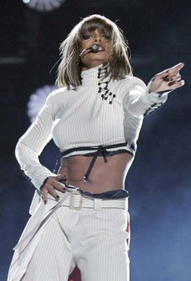 Janet Jackson loves to strip for her lover