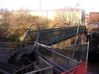 Gorsey Bank footbridge, 26/11/06