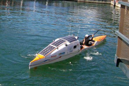 Canoe solar