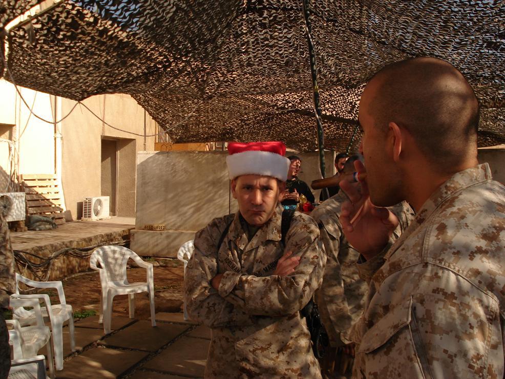Camp Nesius: Christmas in Fallujah/New Years in Ramadi