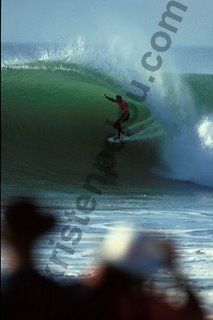 Photographe photo de surf a hossegor, Andy Irons sur la vague de la victoire à la Gravière