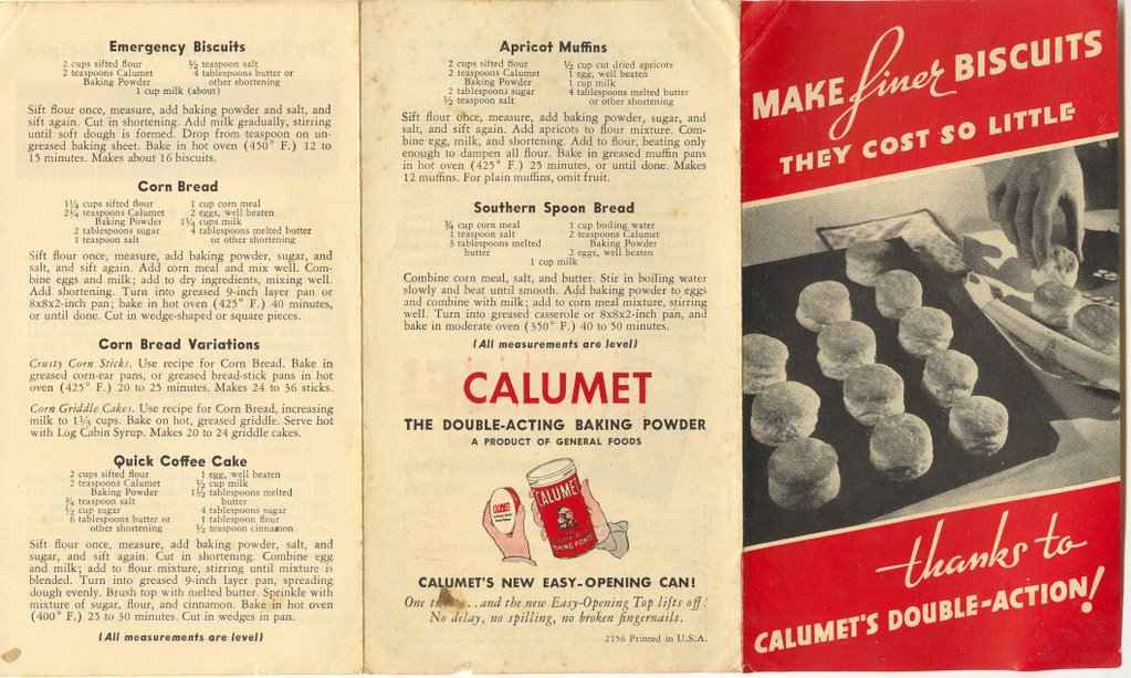 Vintage Cookery And Calumet The Common Room