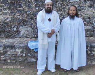 Al Sheikh Gueburah y el Maestro Tepeyolotzin