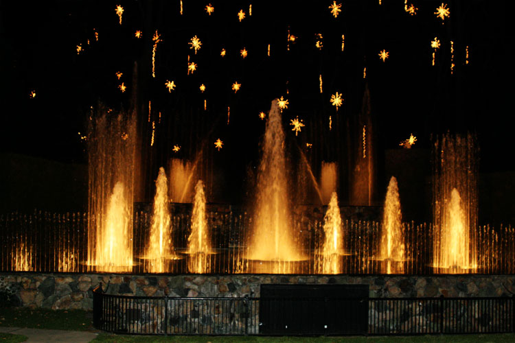 Ramblings Longwood Gardens Water Fountain Show