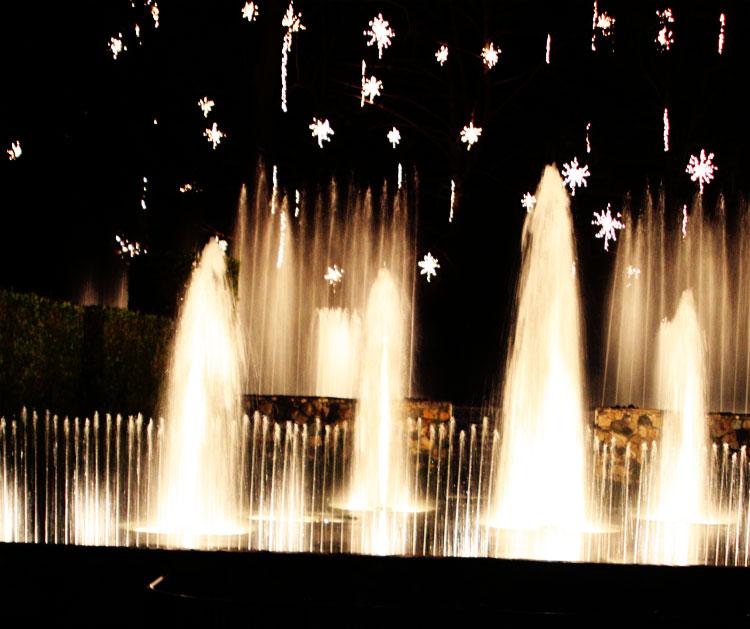 Ramblings Longwood Gardens Water Fountain Show