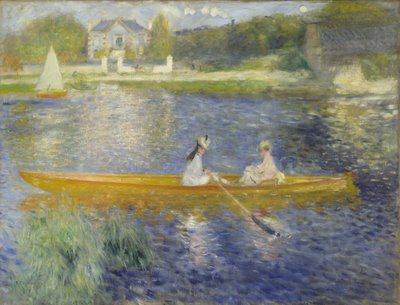 Pierre-Auguste Renoir, The Skiff (La Yole), 1875, oil on canvas, The National Gallery, London