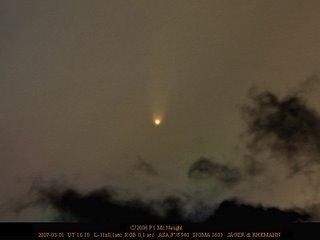 Imagen del cometa C/2006 P1 (McNaught)