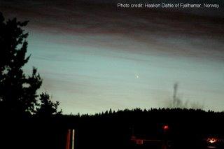 Imagen del cometa C/2006 P1 (McNaught) II