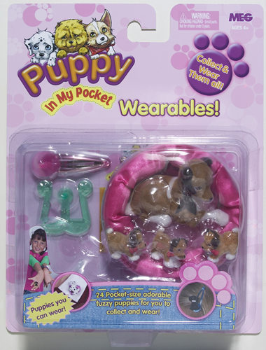 Our Favourite Toys Puppy In My Pocket By Megan