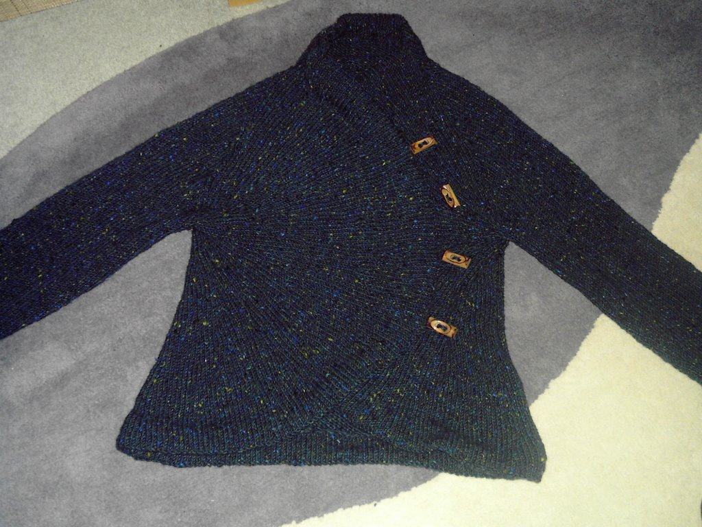 Knitting Pattern Circle Jacket : Sunrise Circle Jacket Knitalong