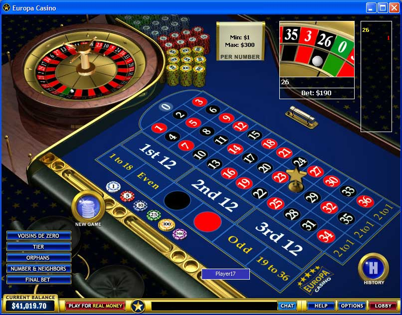20p roulette free game