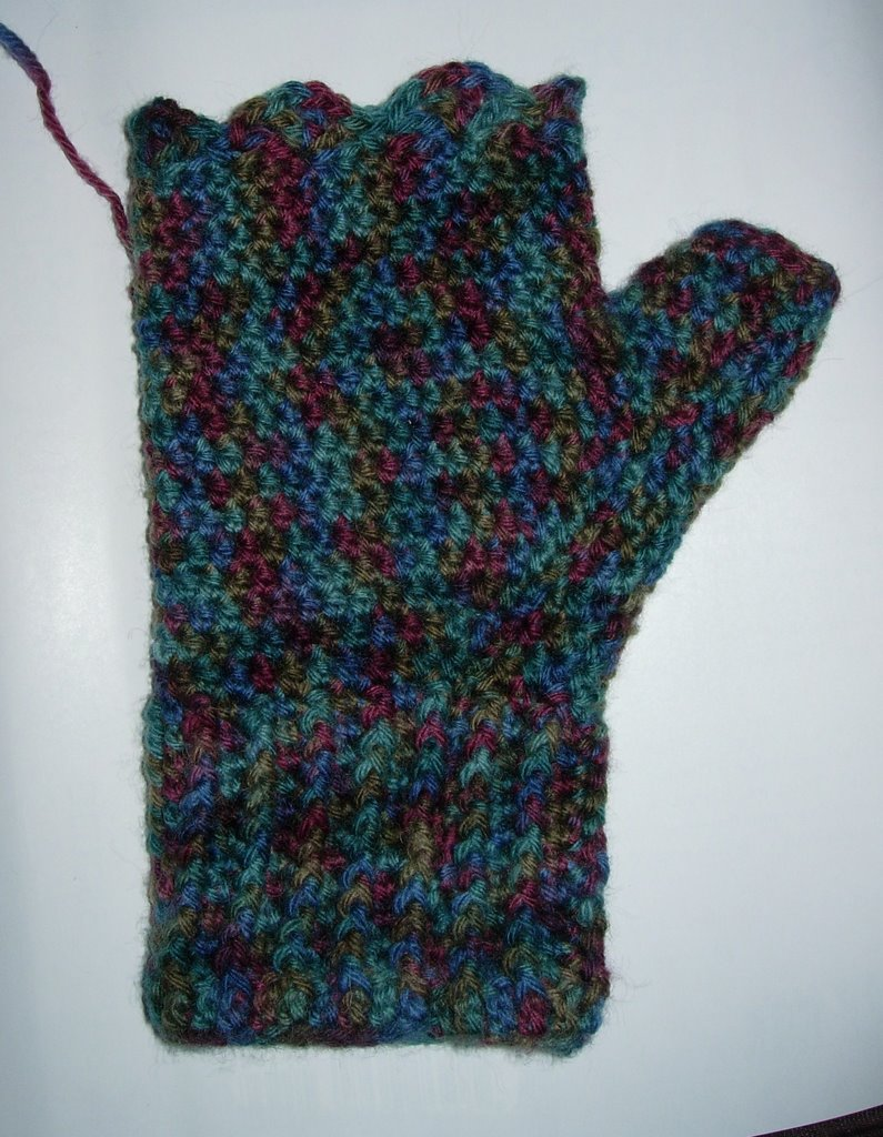 Adventures In Crochet And Spinning Fingerless Mitts Crochet