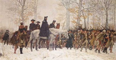 'The March to Valley Forge', by William B.T. Trego, 1883.