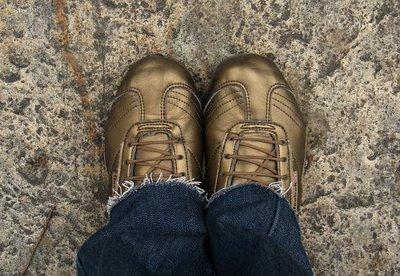 meus pés