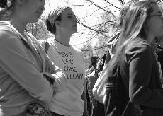 Mar 27th rally shirt - 'Men's Lax Come Clean'
