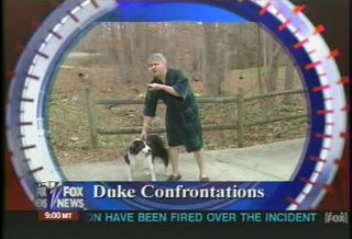 Mike Nifong & dog on Bill O'Reilly