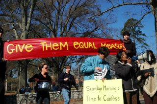 March 26th rally - 'Sunday Morning Time to Confess'