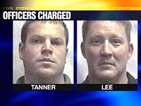 former Durham police officers - Scott Tanner and Gary Lee