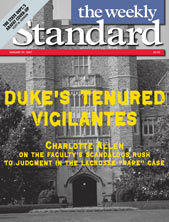 Duke's Tenured Vigilantes