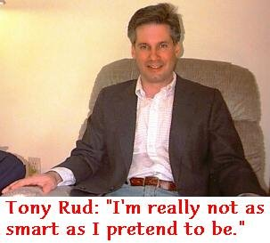 Anthony Gordon Rud: 'I'm not that smart'
