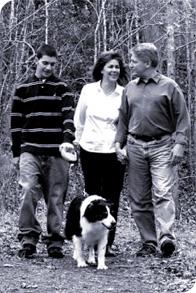 Mike Nifong and family