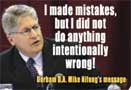 Wilmington Journal graphic - 'Nifong made mistakes' - Yeah, right