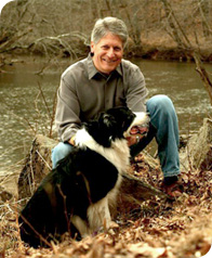 Mike Nifong with his dog