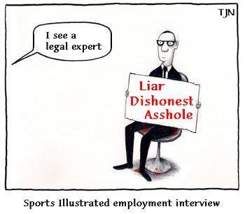 Sports Illustrated 'Legal Expert'