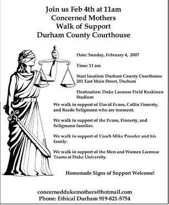 Concerned Mothers Walk of Support.