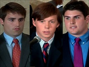 Dave Evans, Collin Finnerty, & Reade Seligmann