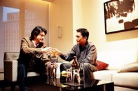Tony and Takeshi doing the whiskey thing