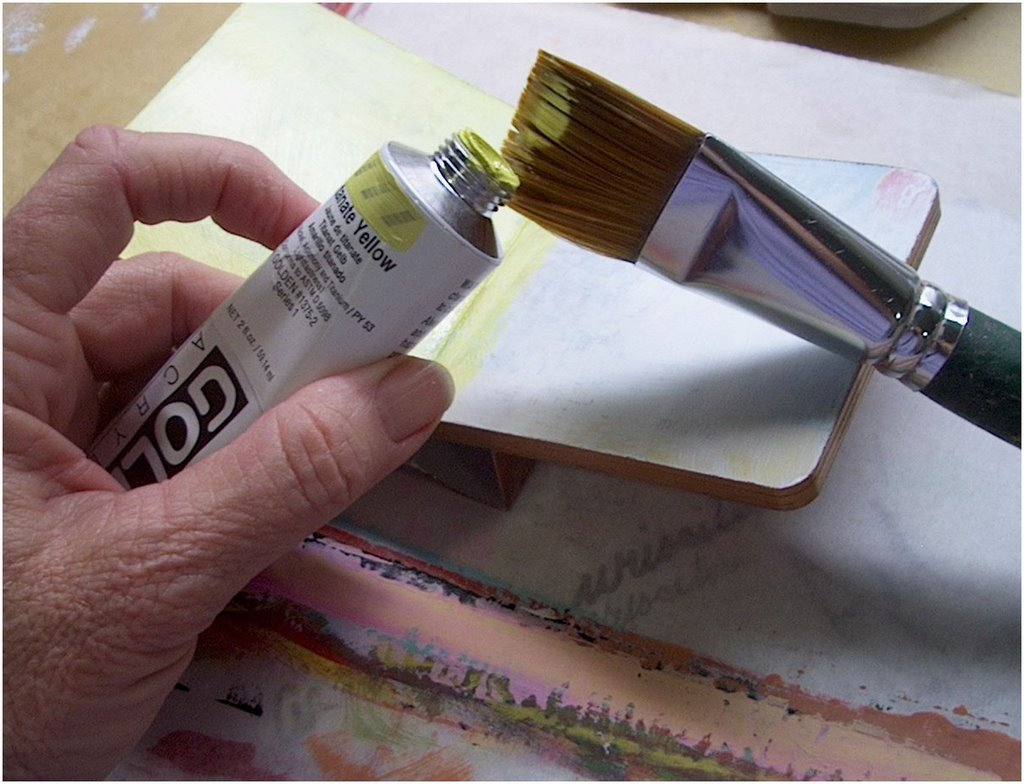 how to keep your paint brush from drying out
