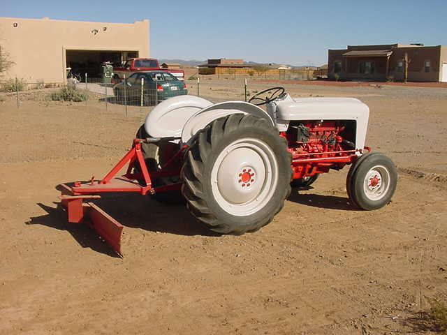 1956 Ford Tractor : Dubious maxims january