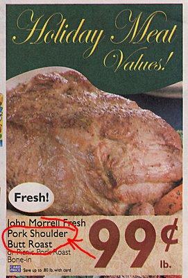 Pork Shoulder Butt Roast