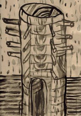 Sketchbook page 98 -- Tower