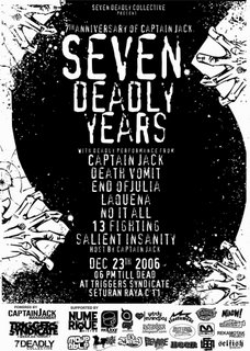 Seven Deadly Years of Captain Jack